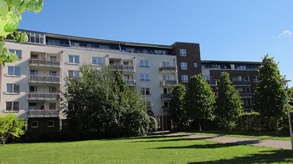 Kieler Innenstadt, Seniorenwohnung